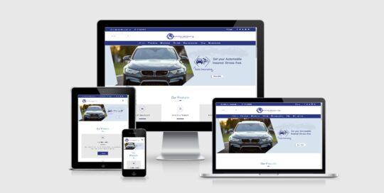 Universal Insurance Plc website